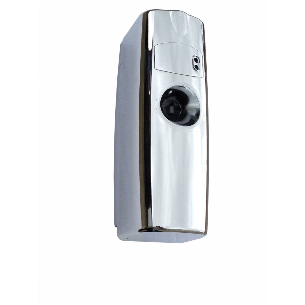 Chrome surespray value automatic air freshener dispenser - Automatic bathroom air freshener ...
