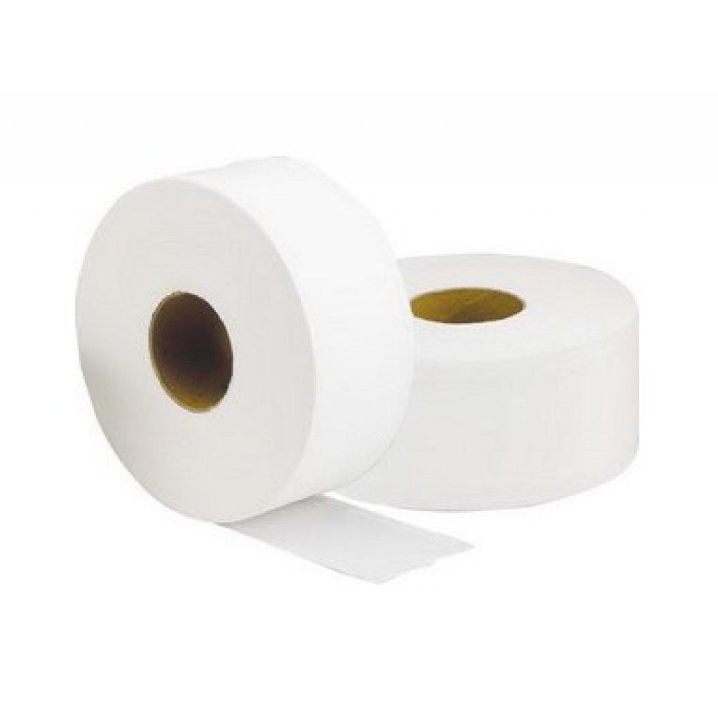 Mini Jumbo Toilet Paper 12 Rolls Per Case 2 Ply 150m 3