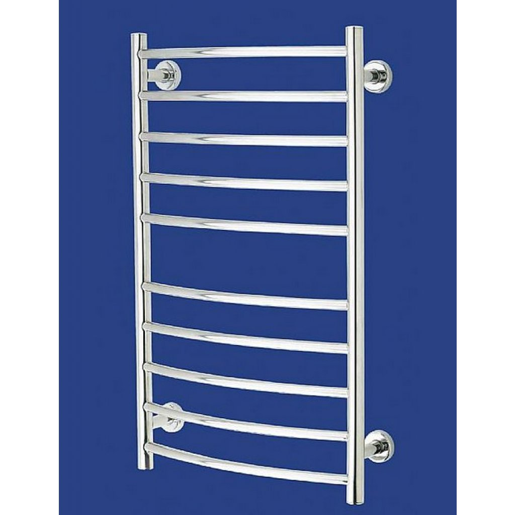 Aquilo Aq100lc Chrome Towel Rail Radiator Electric Heater