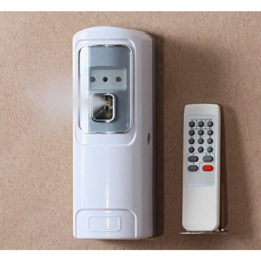 Remote control automatic air freshener dispenser easy for Air freshener for bathroom