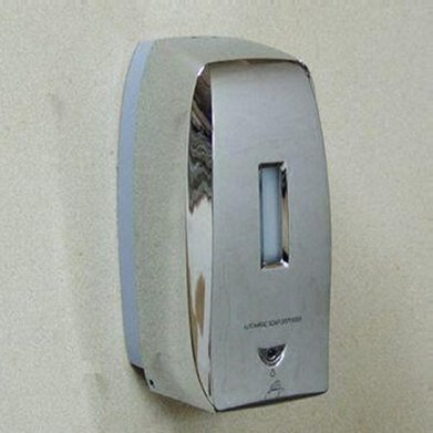 Chrome Plastic Abs Automatic Auto Soap Dispenser Infra Red