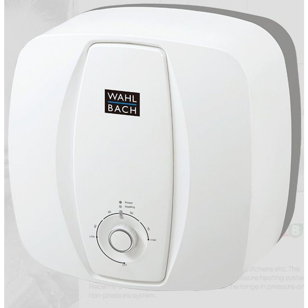 WAHL-BACH Unvented Electric Water Heater Oversink 15L 1.5kW 15 LITRE ...