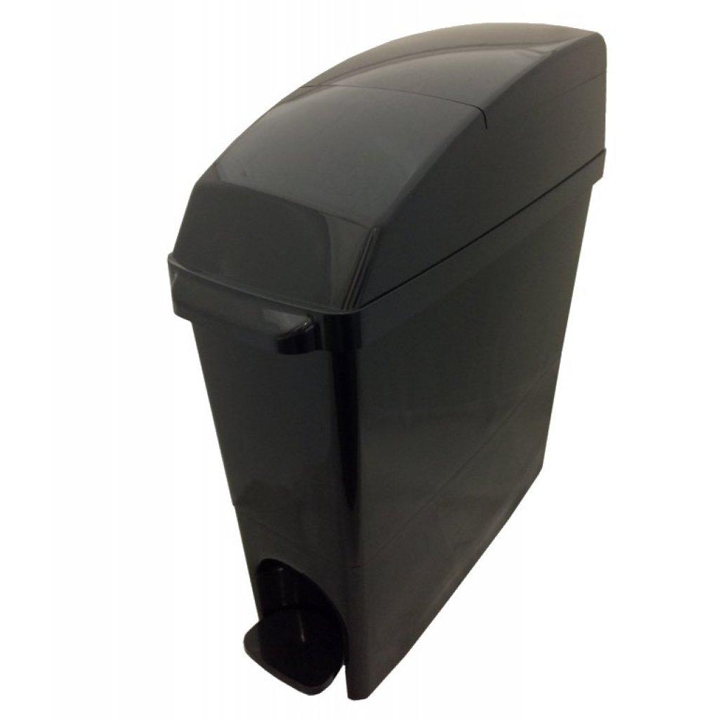 Classic Buy Sanitary Bin 15 Litre Compact All Black Easy