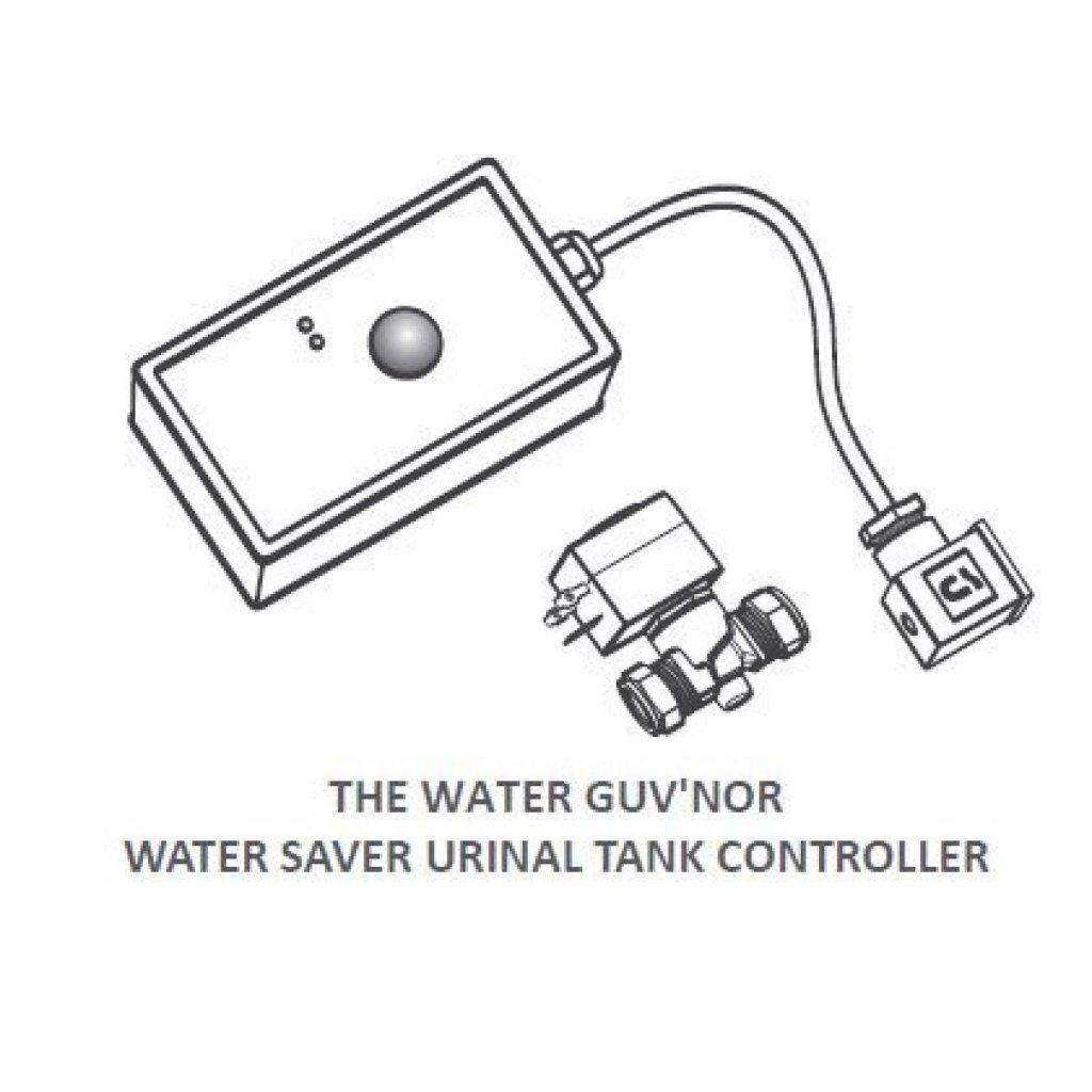 guv u0026 39 nor pir sensor  valve urinal water saver management