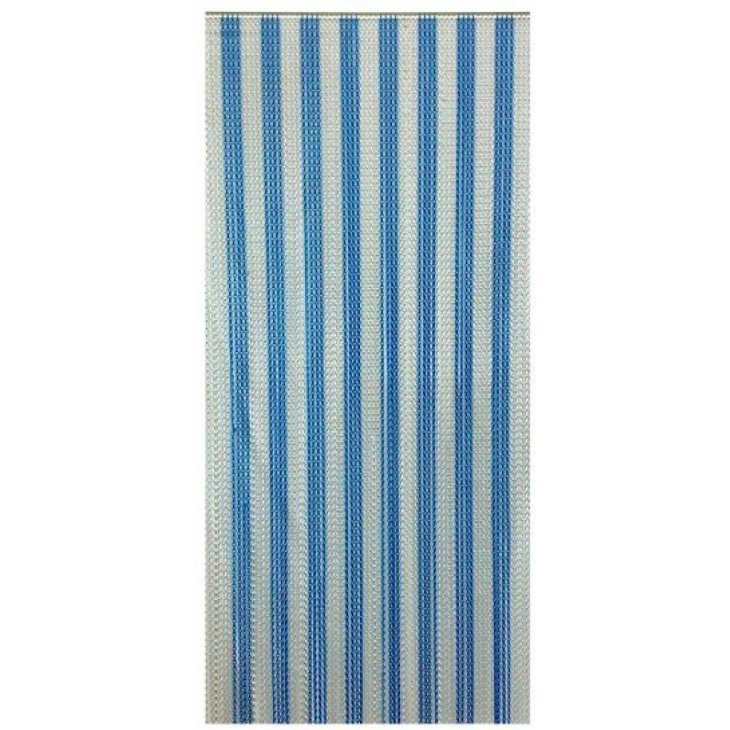 Electric Blue Amp Silver Insect Fly Chain Curtain Quality