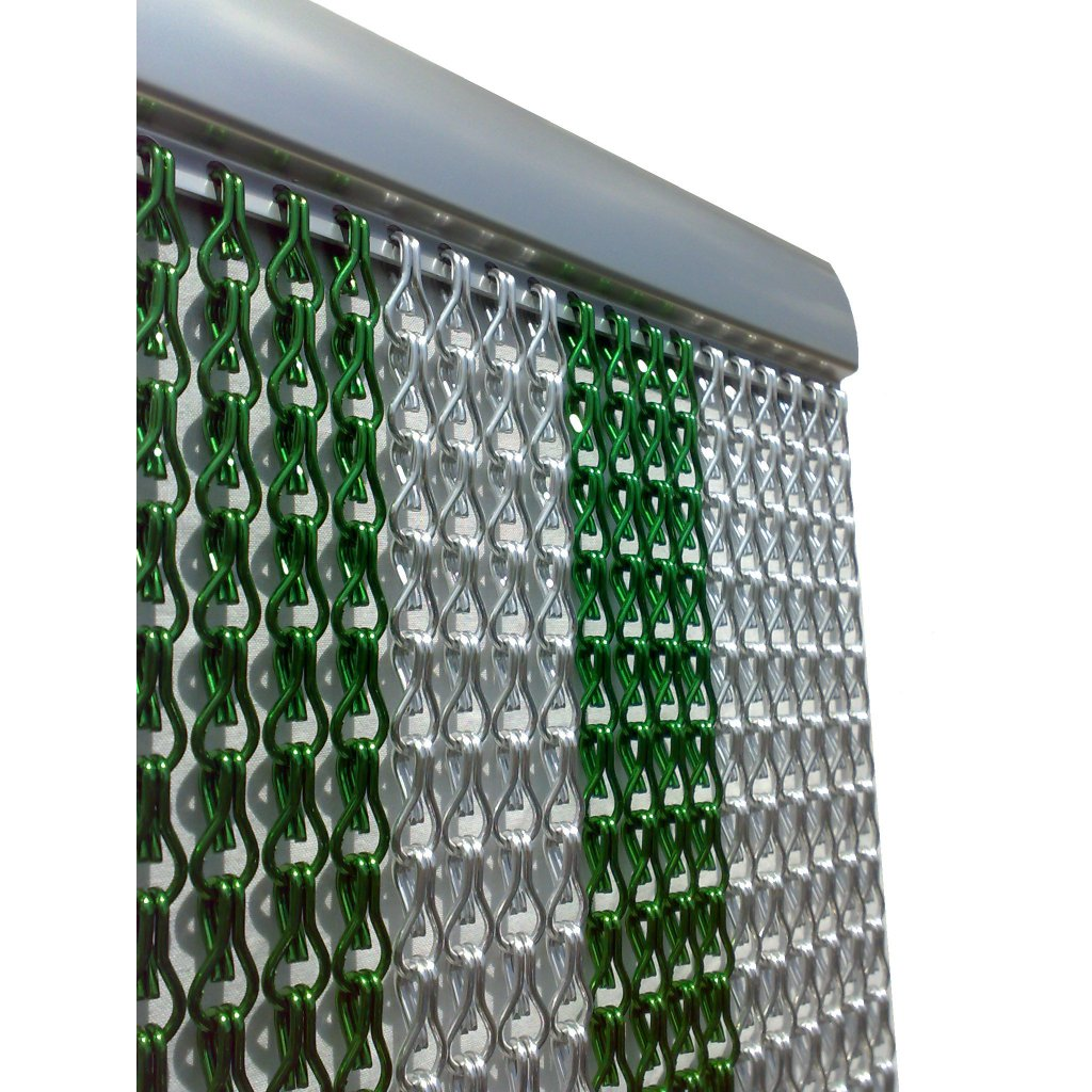 Green Amp Silver Insect Fly Chain Door Curtain Quality